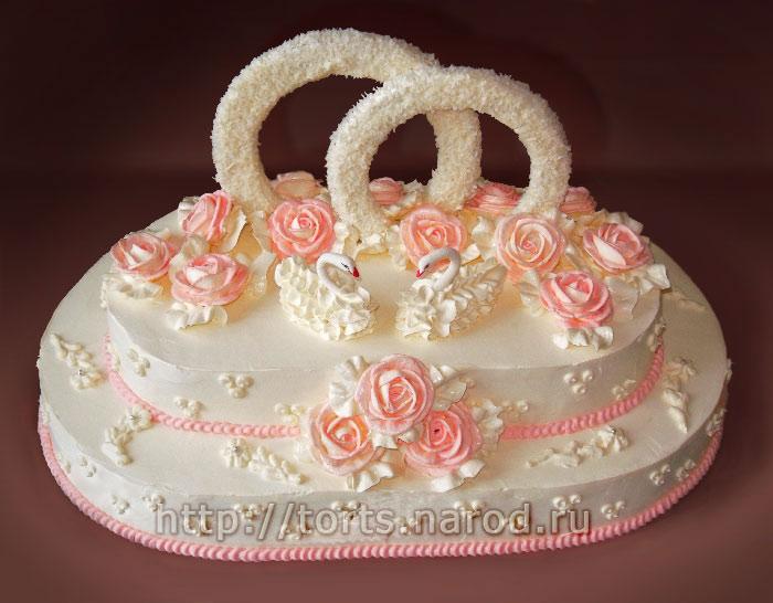 Фото масляных тортов на серебряную свадьбу